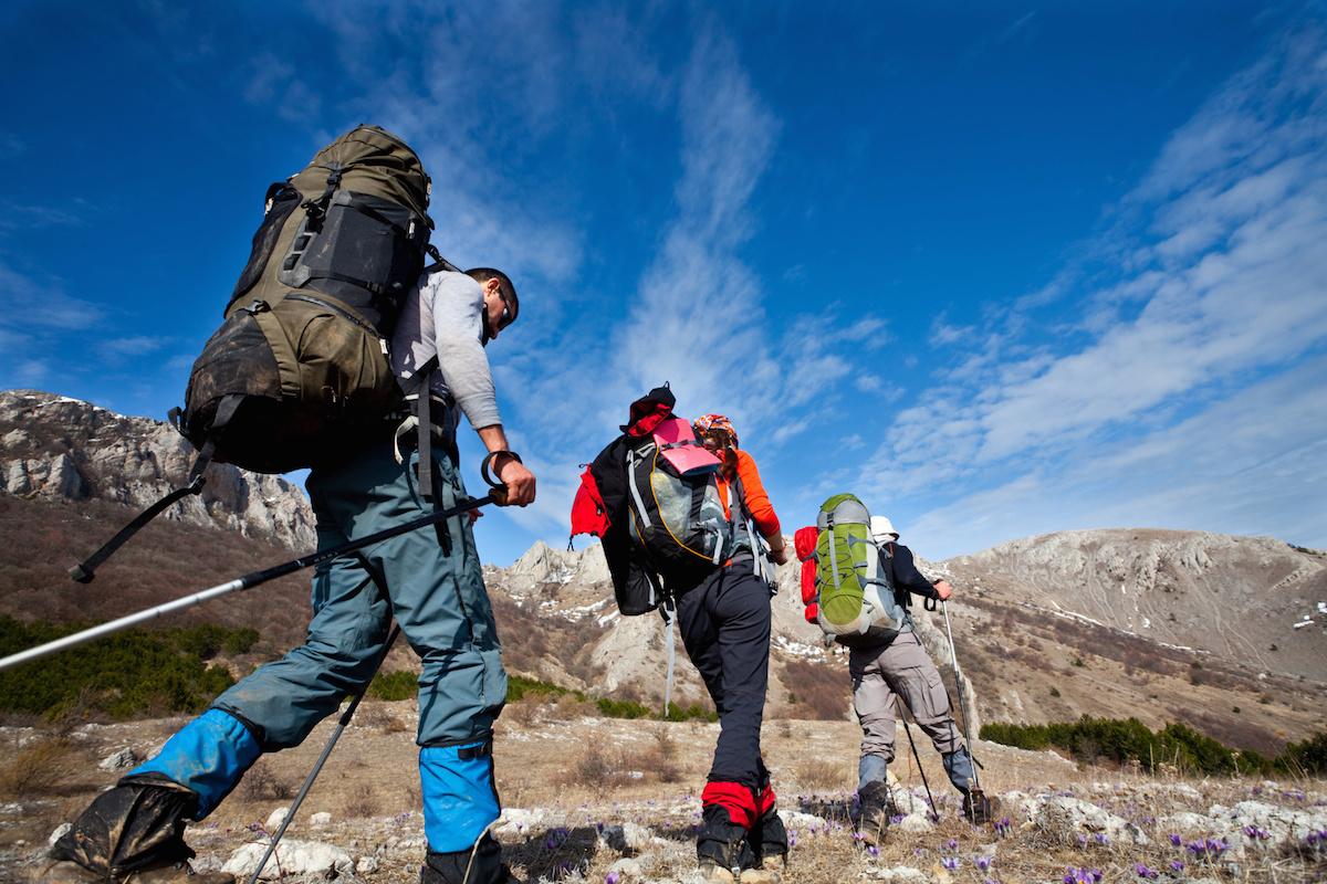 グループ登山講習