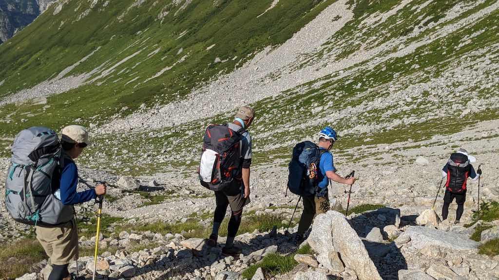 """登山の""""下り""""の苦手意識を克服するためには? – 山の相談小屋"""