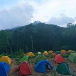 テントサイトの混雑について – 山の相談小屋