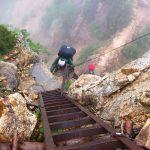 高所恐怖症ではしご、岩場、鎖場が苦手です – 山の相談小屋